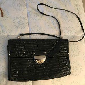 Cynthia rowley patent leather crossbody bag